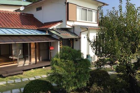 Japanese style tatami room - House