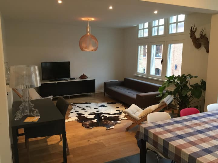 Gezellig 1-slk appartement in Nieuwpoort-Stad
