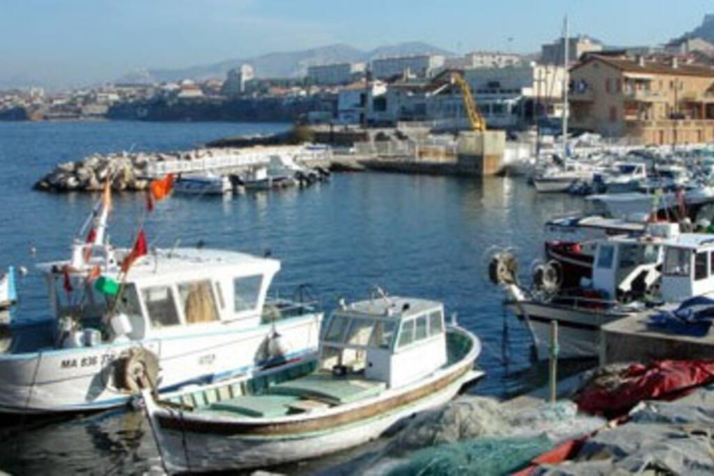 Le port de la madrague montredon