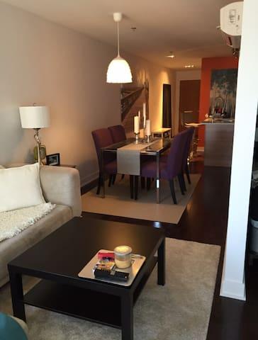 Bright & Spacious Condo - Montreal - Apto. en complejo residencial