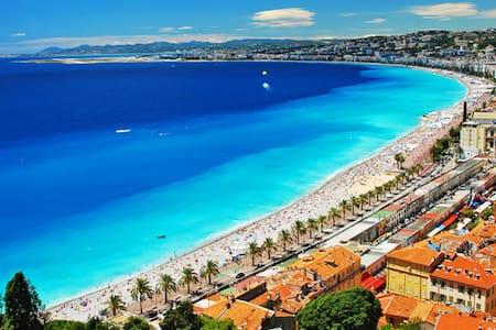 Central, Spacious, Old City, 200m to Beach - Niça - Pis