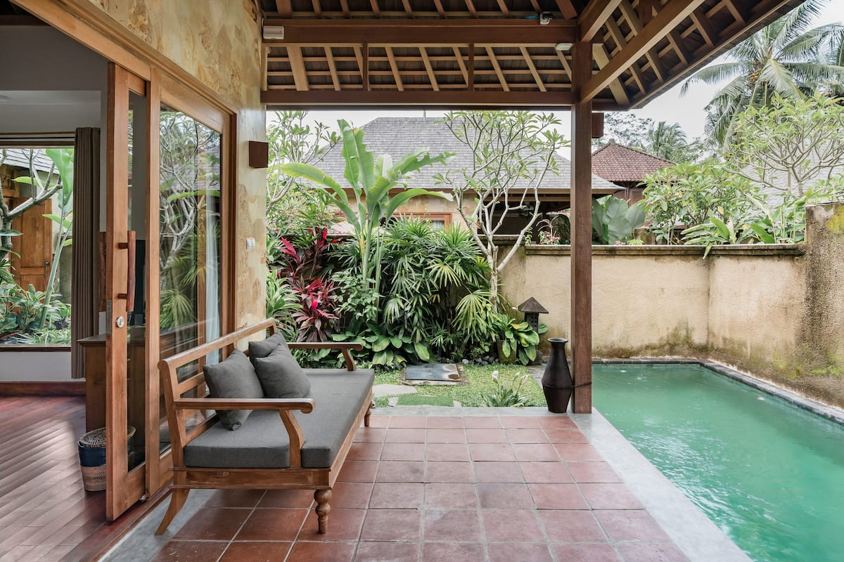 GrahaSandat—Luxurious Pool Villa in Center of Ubud