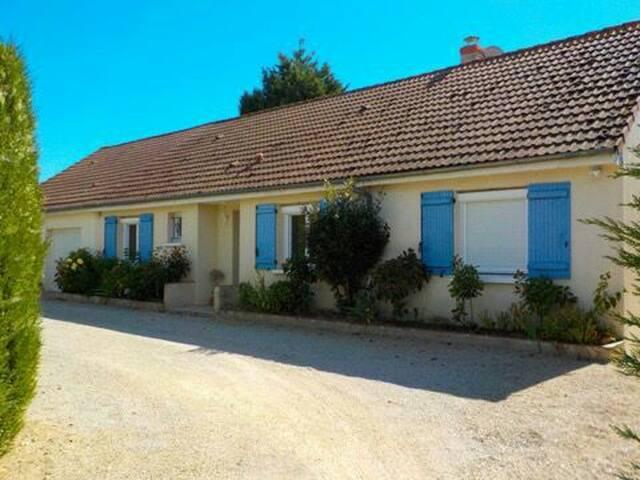 Maison familiale proche Chambord