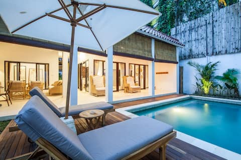 Charming 2 Bdrm Villa in Seminyak - close to beach