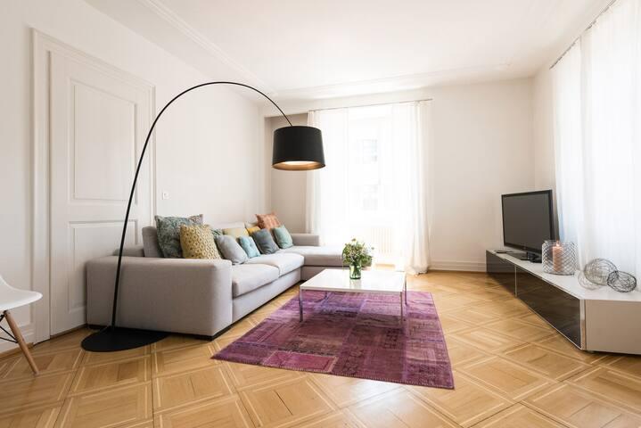 design apartment im zentrum 145m2 mit parkplatz