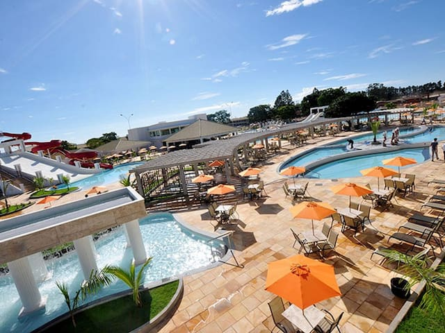 Resort L'acqua Di Roma II com Parque Aquático!