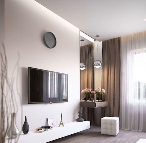 Шикарная двухкомнатная квартира в центре