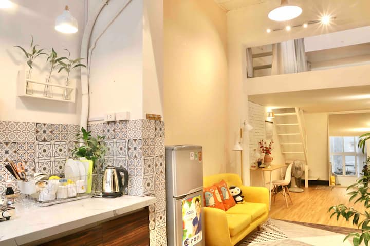 VITAMIN HOME★Apt★4pers★Old quarter★Netflix★Kitchen