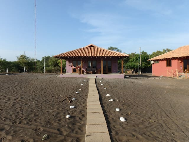 Playa Tesoro 35: Purple Casita @ Turtle Island - Salinas Grandes - House