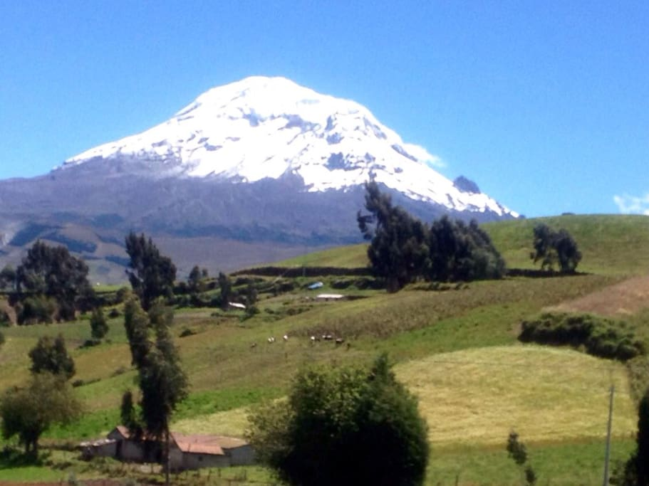Chimborazo is a currently inactive stratovolcano in the Cordillera Occidental range of the Andes. Its last known eruption is believed to have occurred around 550 C.E. With a peak elevation of 6,263 m, Chimborazo is the highest mountain in Ecuador. Wikipedia Elevation: 20,564′ Topo map: IGM, CT-ÑIV-C1 Did you know: Rising to 20,702 feet (6,310 metres), it is the highest peak of Ecuador and was long mistakenly thought to be the highest mountain of the Andes. britannica.com