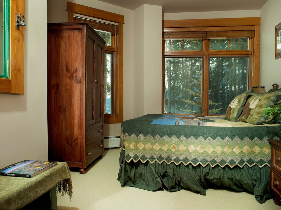 Enjoy a good night's sleep in the comfortable beds
