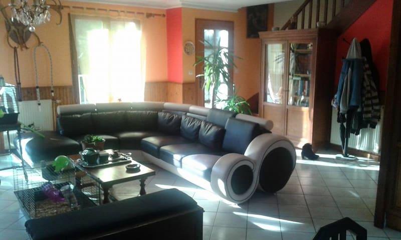 Chambre calme et confortable - Parigné-l'Évêque