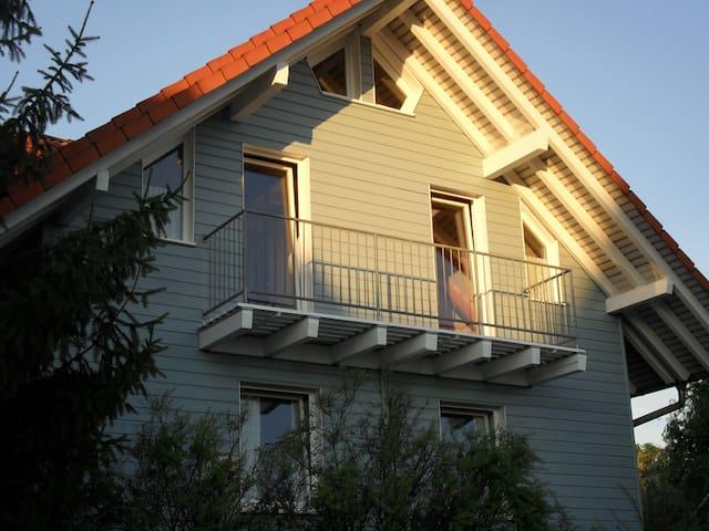 Eigener Süd-West-Balkon