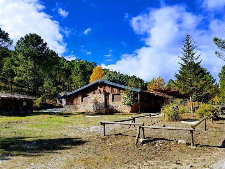 Parque natural rio mundo  EL LAGUNAZO ESMERALDA