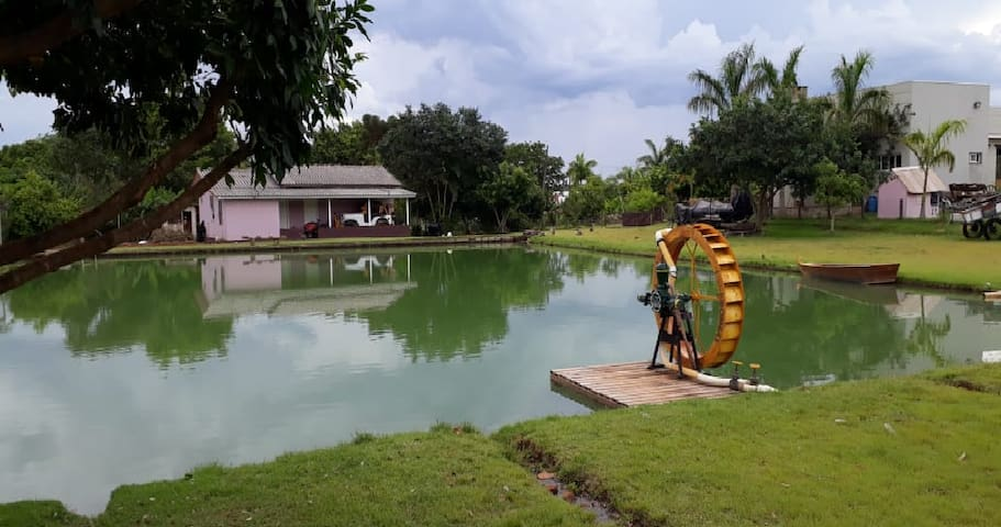 Foz do Iguaçu. Hospede-se em meio à Natureza. Casa