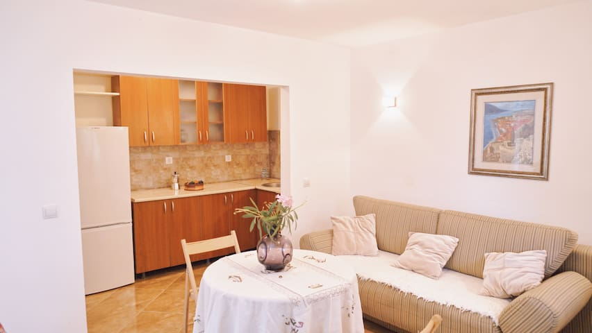 Villa Best. Apartament with one bed.