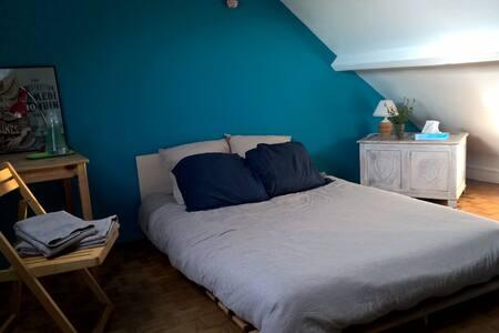 Jolie chambre dans maison chaleureuse - Conflans-Sainte-Honorine