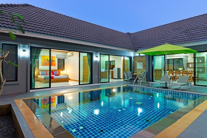 Design Private Pool Villa, 3 bedrooms, Naiharn