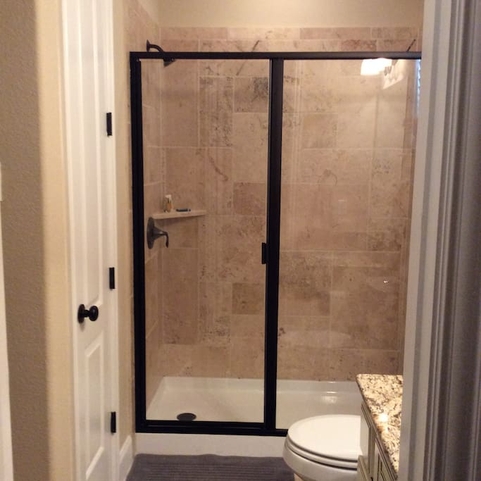 Big shower space