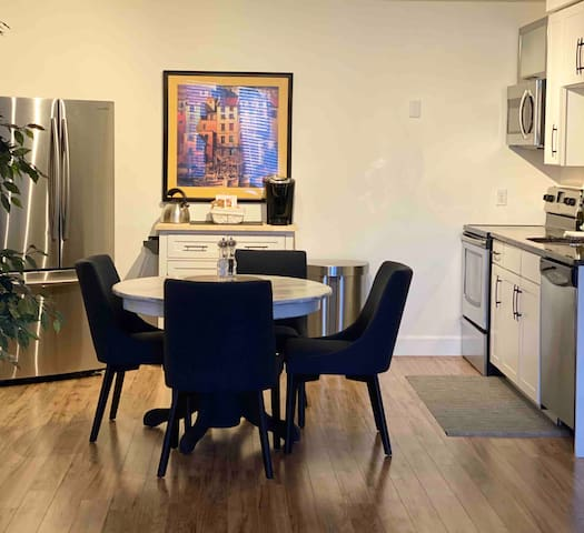 Large one bedroom private suite available