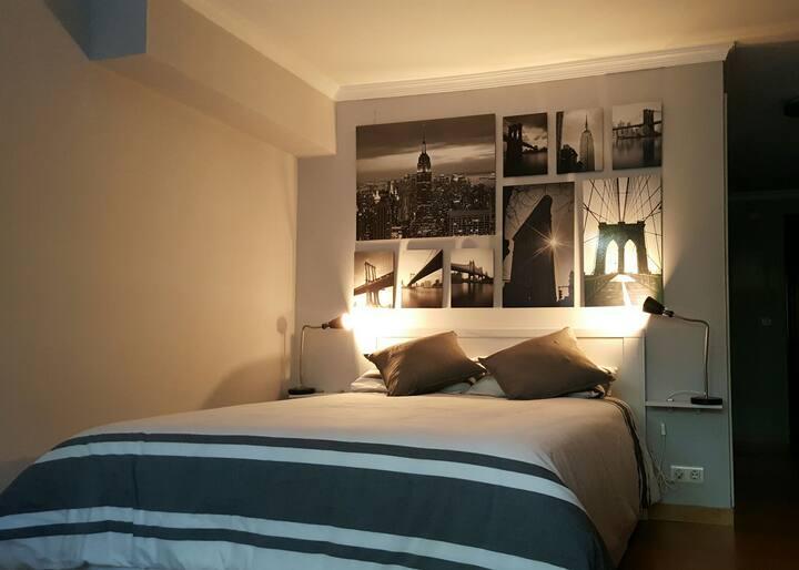 Renewed, cozy, full equipped Deluxe Loft
