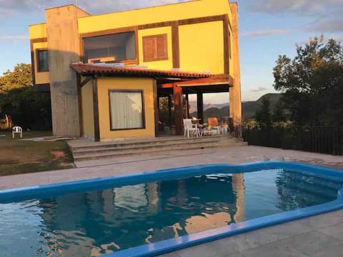 Casa na Serra do Cipó - 4 habitacions - 7 llits