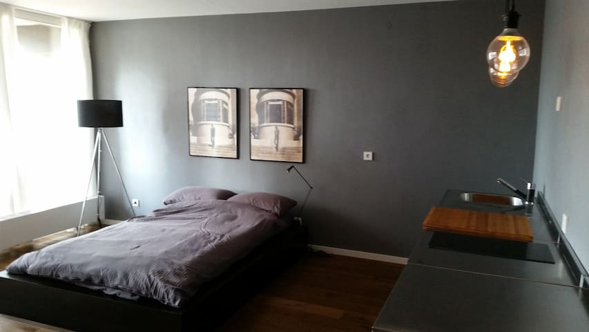 Exklusives Studio mit Balkon - Karlsruhe - Apartment