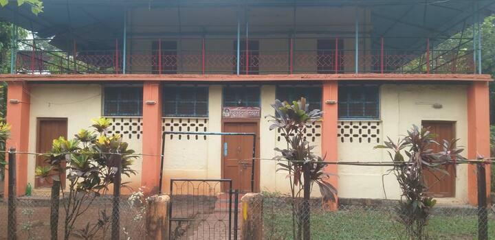 Konkani style vintage home near Kihim beach