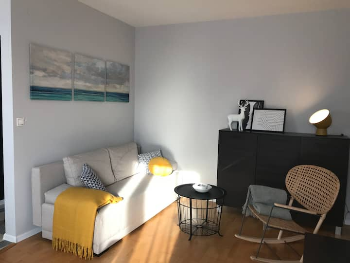 New, cozy apartment