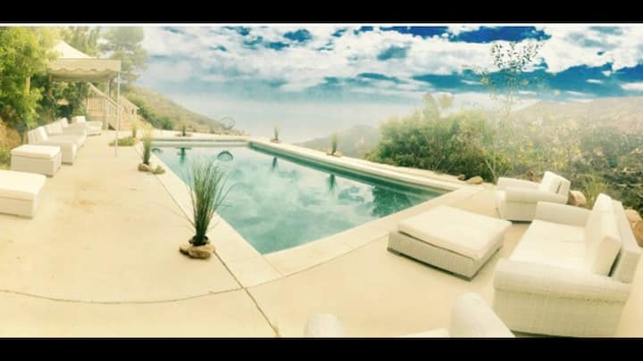 Immunity nature-heal Malibu oceanmountain retreat