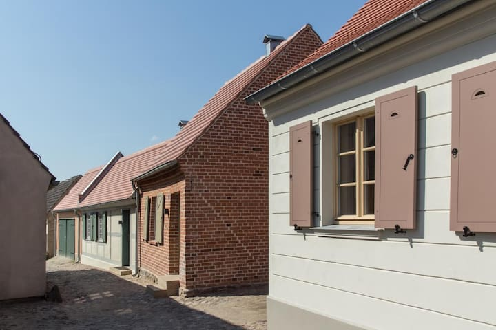Ferienhäuser an der Stadtmauer