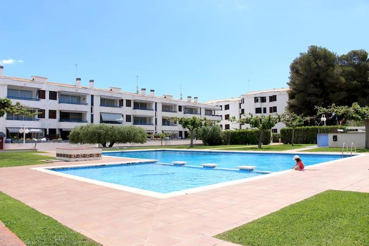 Acogedor apartamento de playa en Torredembarra