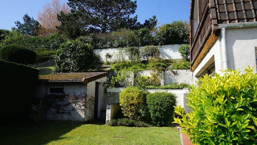 LE TOUQUET-ville-plage: villa, 4ch, jardin, calme.