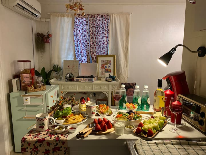 (시간대여 가능) Lulu 홈카페, 홈시네마 스윗한 실내!  오롯이 즐겨보아요!