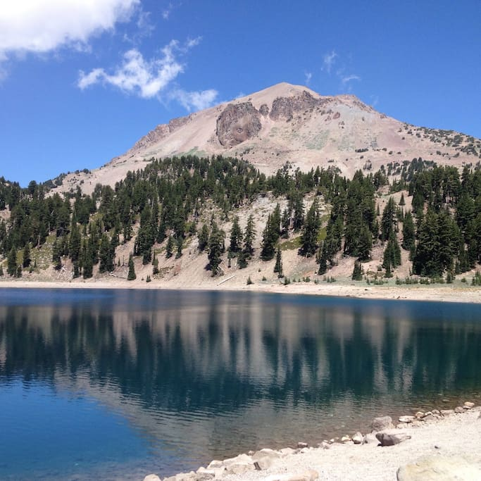 Hiking in Lassen Park is absolutely stunning!