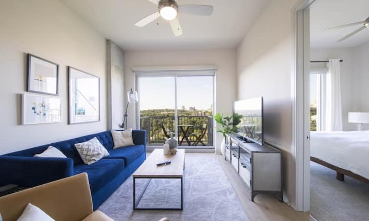Live + Work + Stay + Easy | 1BR in Austin