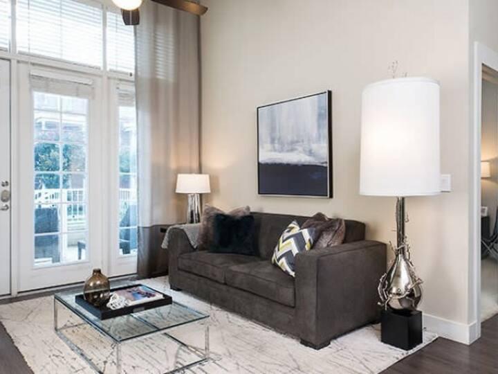 Entire apartment for you | 1BR in Dallas
