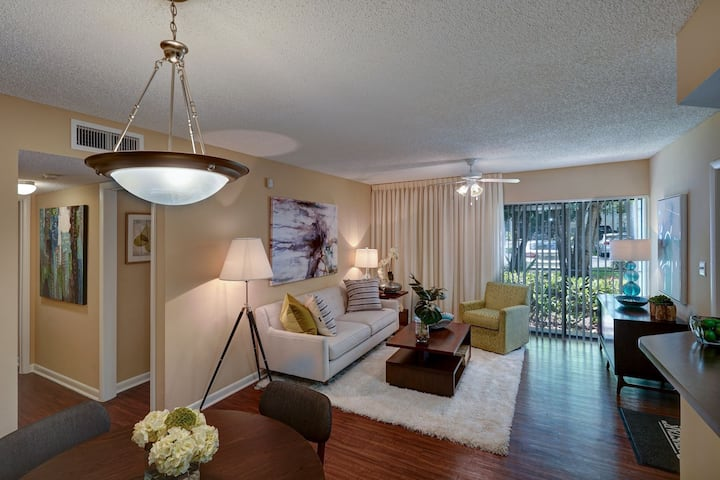 Stay in a place of your own | 2BR in Plantation