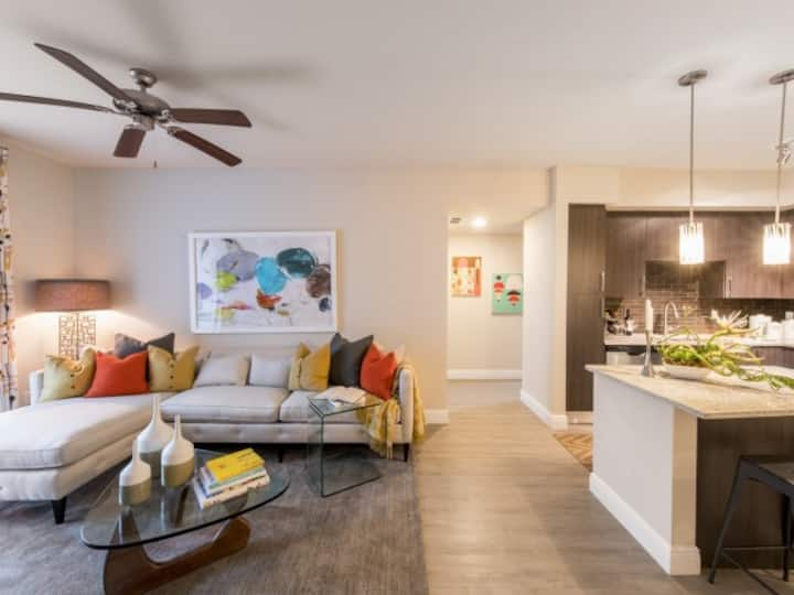 Live + Work + Stay + Easy | 2BR in Miami