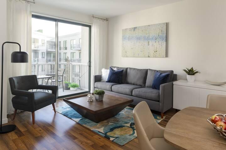 Brilliant apartment home   1 BR in Stamford