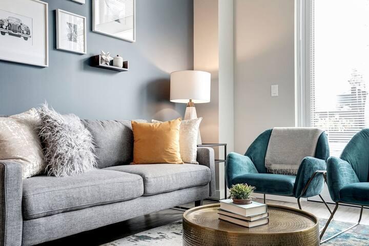 All-inclusive apt home | 1 BR in Alexandria