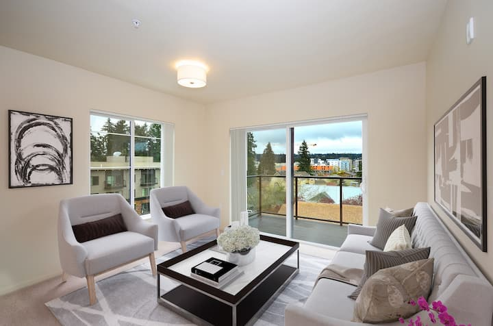 Stay as long as you want | 1BR in Redmond