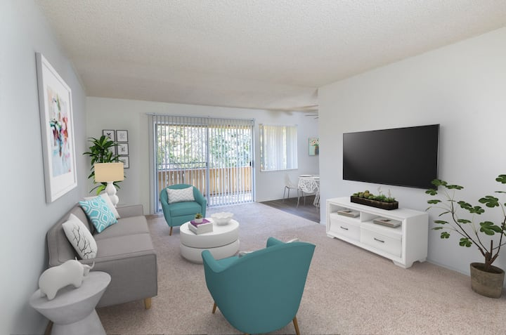 Live + Work + Stay + Easy | 2 BR in Mountain View