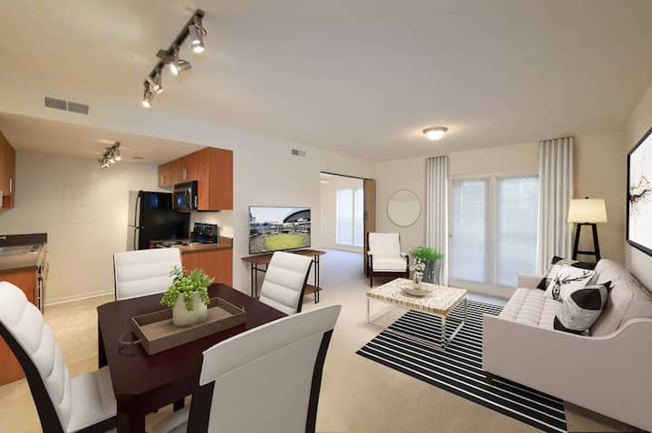Live + Work + Stay + Easy | 2BR in Madison