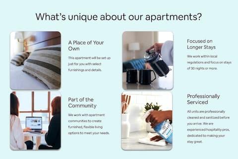 Brilliant apartment home   1BR in Alexandria