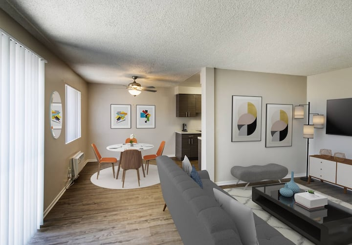 Well-equipped apt home   1BR in La Mirada