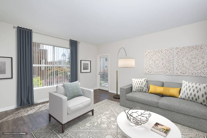 Well-equipped apt home | 1BR in San Jose
