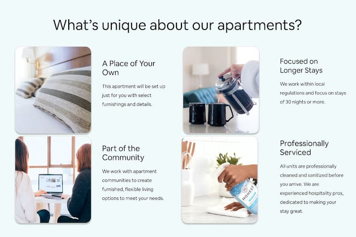 Clean apartment home   1BR in Philadelphia