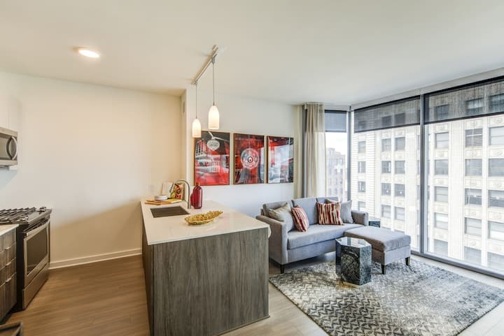 Well-equipped apt home   1 BR in Cleveland