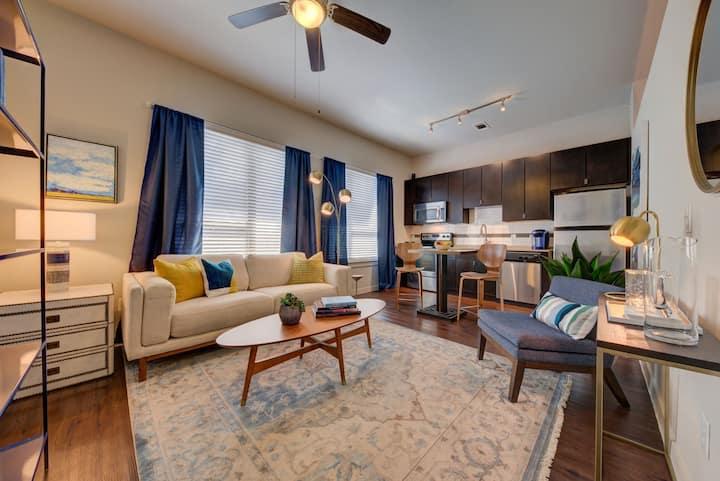 Relax in comfort | 1BR in San Antonio